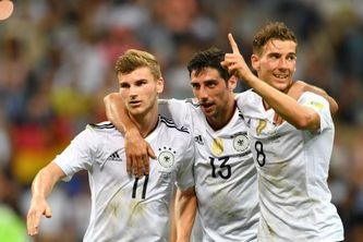 German national team has managed to take the lead
