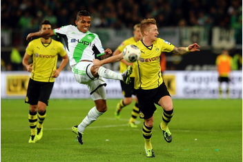 Dortmund has defeated Wolfsburg