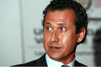 """The former executive director of Madrid """"Real"""" Jorge Valdano"""