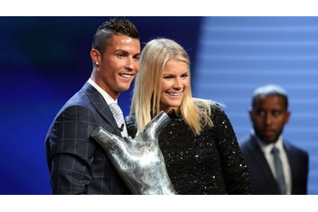 Cristiano Ronaldo and mother of Ada