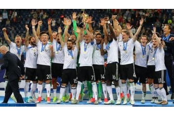 Germany has won the Confederations Cup