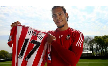 Virgil van Dijk has been signed for €84.5 million