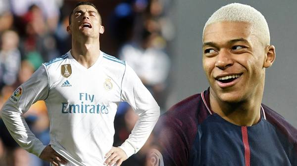 Cristiano Ronaldo is going to be replaced by Kylian Mbappé