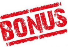 the bookmakers' bonuses